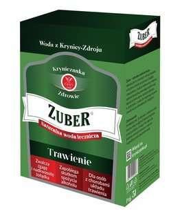 """Krynica-Zdrój """"ZUBER"""" - 5 l - Naturalna mineralna woda lecznicza z uzdrowiska - Szczawa hiperosmotyczna"""