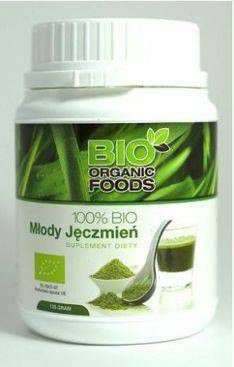 Młody jęczmień BIO 150g (sproszkowany sok) - Bio Organic Foods