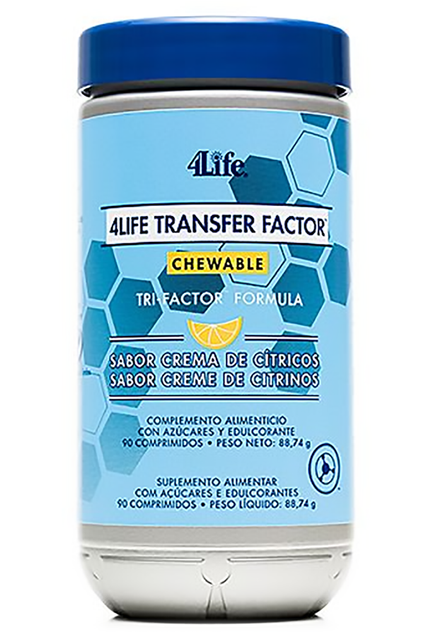 4Life Transfer Factor™ Chewable Tri-Factor™ Formula - (90 tabl. do ssania) - Suplement diety 4Life Research, USA