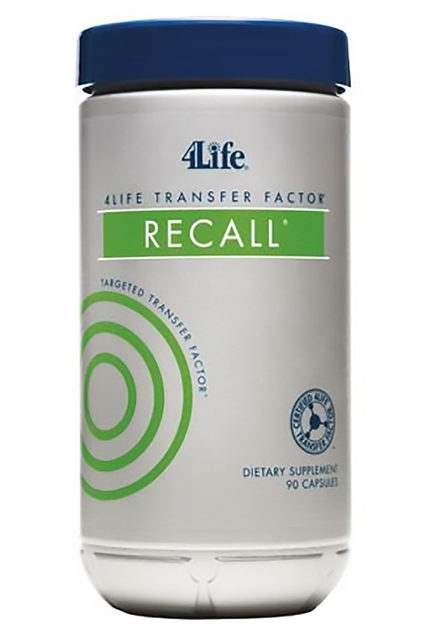 4Life Transfer Factor™ Recall™ (90 kaps.) - Suplement diety 4Life Research, USA